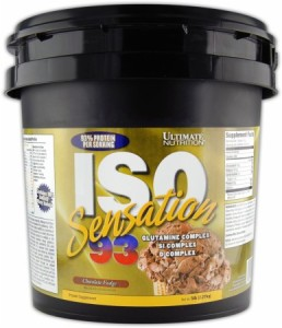 ISO Sensation 93 (Ukuran 2Lbs dan 5 Lbs) -Whey Ultimate Nutrition