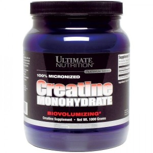 Creatine Monohydrate 1000gr,300gr,120gr,200 Capsule – Ultimate Nutrition