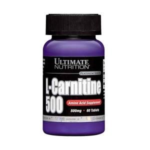 L-Carnitine 500mg, 60tabs – Ultimate Nutrition Berubah jadi Bubuk