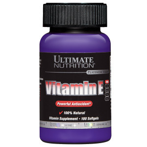 Vitamin E (Isi 100 Softgel) – Ultimate Nutrition