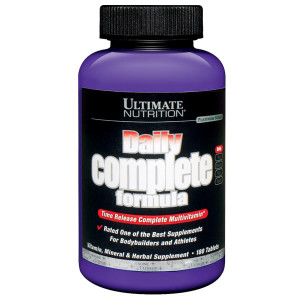 Daily Complete Formula 180 Tablet – Ultimate Nutrition
