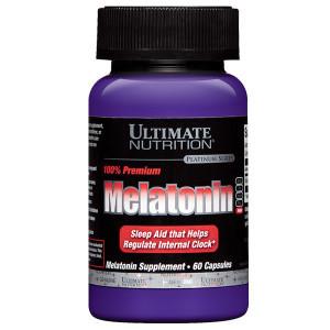 Melatonin 60 Capsule – Ultimate Nutrition